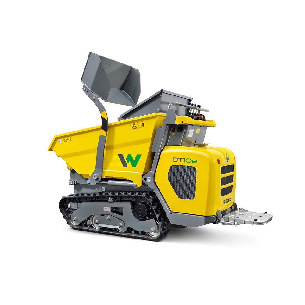 electric track dumper for sale wacker neuson